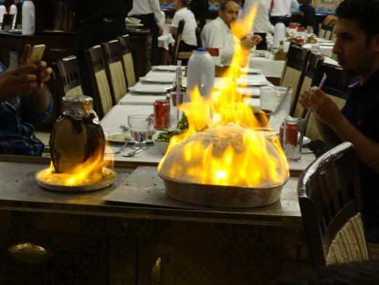 مطعم الملك في اسطنبول