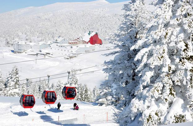 اهم معالم السياحة في بورصة التركية جبل اولوداغ بورصة تركيا