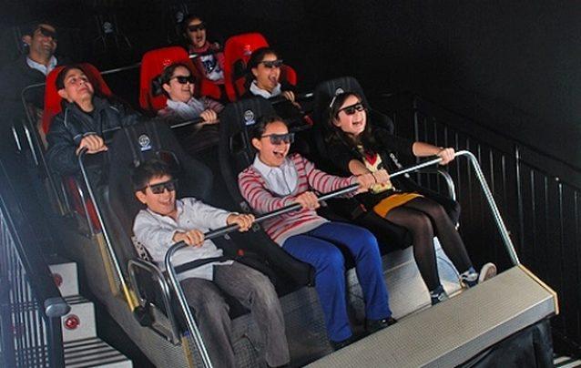 سينما 5D في اكواريوم اسطنبول