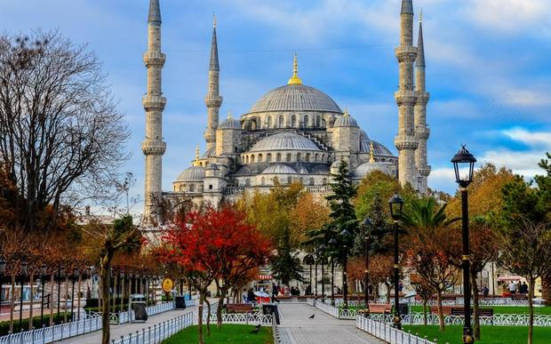 المسجد الازرق اسطنبول - مساجد اسطنبول