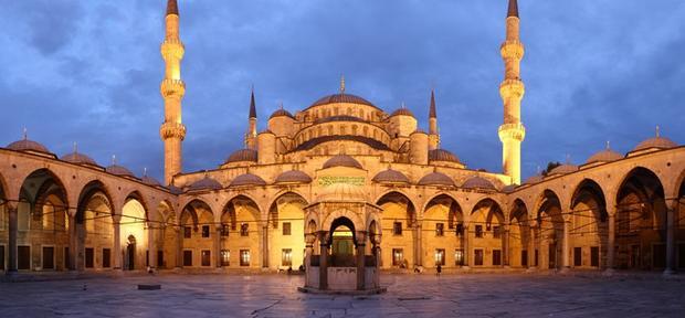 المسجد الازرق اسطنبول