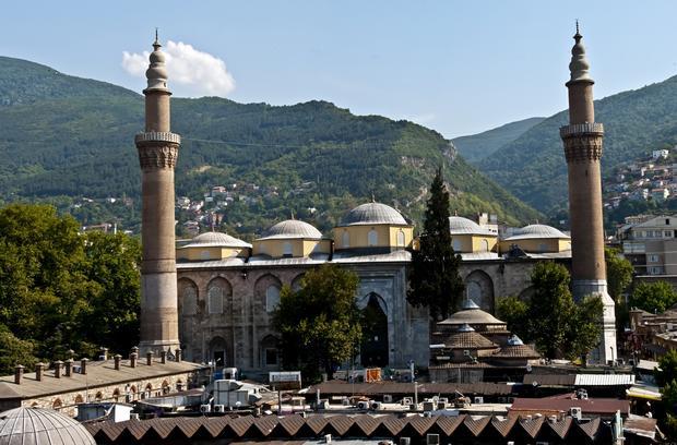 جامع بورصة الكبير في تركيا