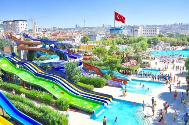 اكومارينا اسطنبول تركيا واحد من افضل مدن الملاهي في اسطنبول