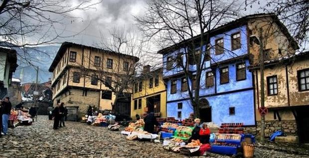 اهالي القرية العثمانية في بورصة