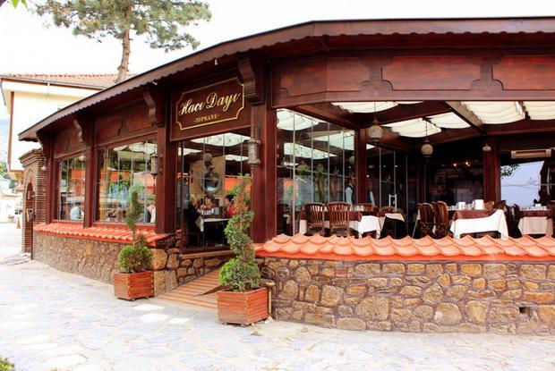 مطعم حجي دايه قرب برج الساعة في بورصة