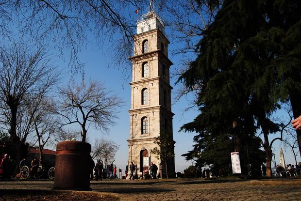 برج الساعة بورصة الاماكن السياحية في بورصة