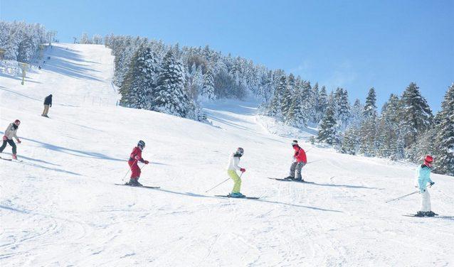 جبل اولوداغ بورصة - مدينة بورصة التركية في الشتاء