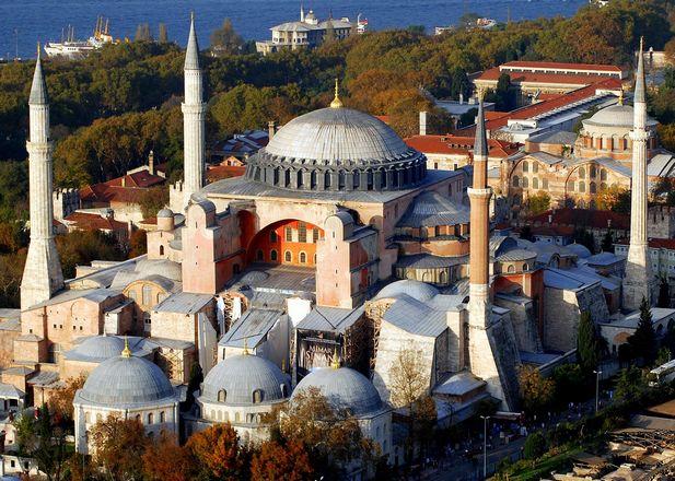 متحف ايا صوفيا اسطنبول تركيا - متاحف اسطنبول