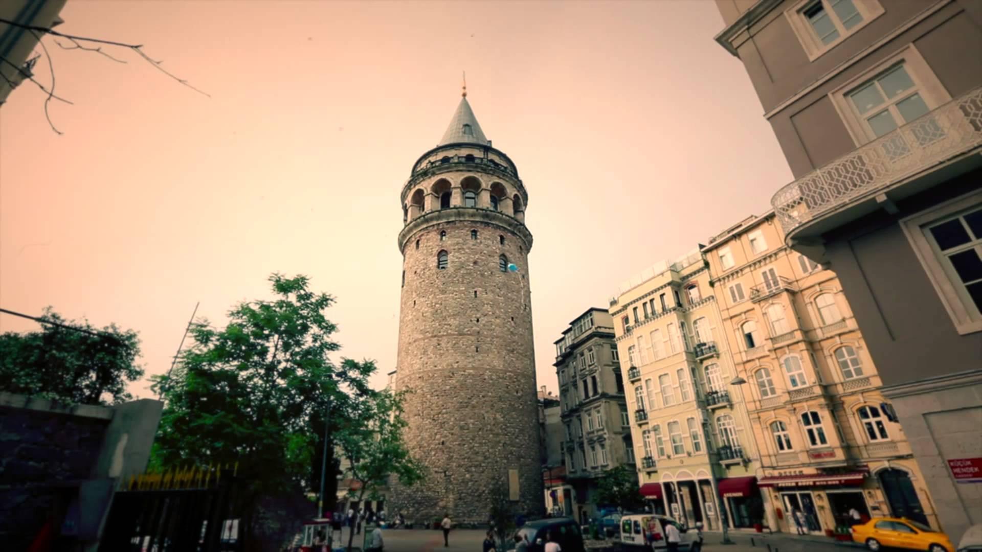 برج غلاطة اسطنبول في تركيا