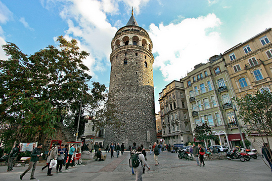 برج غلاطة اسطنبول تركيا - اهم المعالم السياحية في اسطنبول