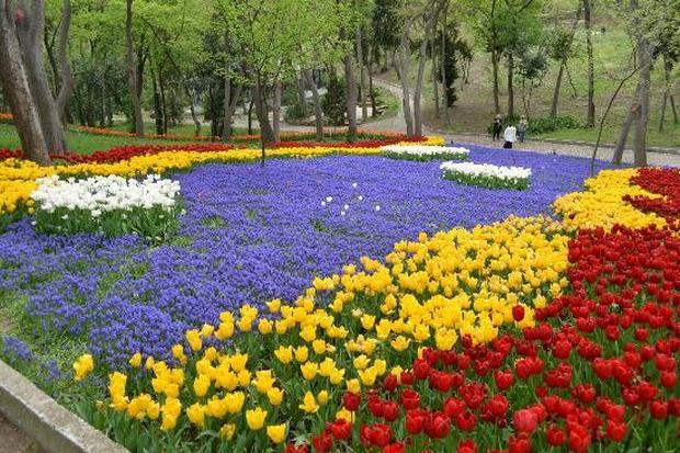 حديقة يلدز اسطنبول تركيا اجمل الحدائق في اسطنبول