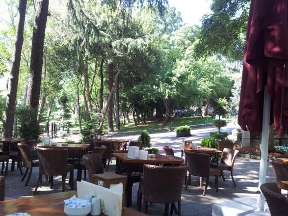 حديقة يلدز في اسطنبول في تركيا