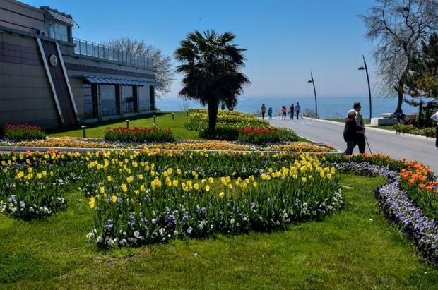 حديقة فلوريا في اسطنبول تركيا