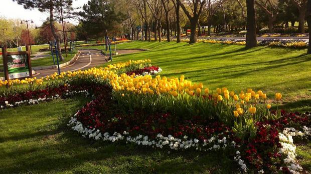 حديقة فلوريا في اسطنبول - منطقة فلوريا اسطنبول