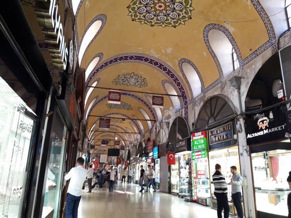 جراند بازار اسطنبول - الاسواق في اسطنبول