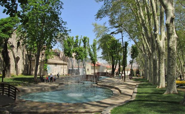 حديقة جولهانة اسطنبول