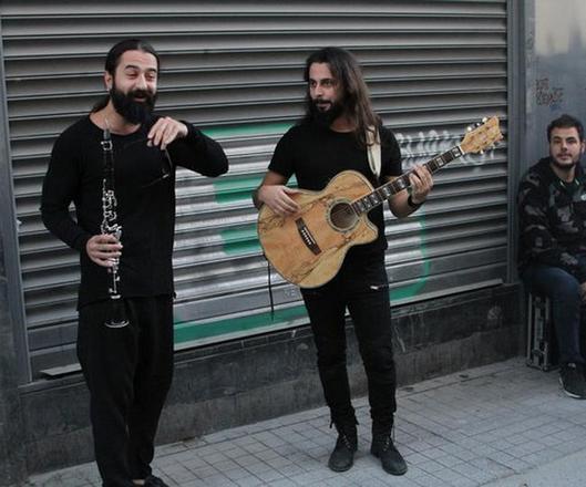 شارع الاستقلال في اسطنبول في تركيا