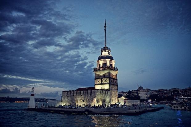 برج الفتاة اسطنبول - اجمل المعالم السياحية في اسطنبول