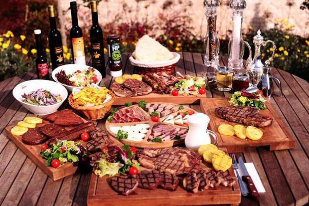 الستيك في مطعم شازلي اسطنبول - منطقة فلوريا في اسطنبول