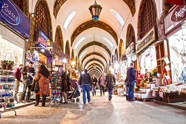 البازار المصري اسطنبول - اسواق اسطنبول الشعبية