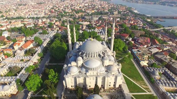 مسجد سليمان القانوني جامع السليمانية اسطنبول - مساجد اسطنبول