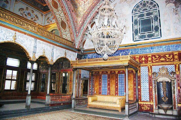 قصر توبكابي في اسطنبول تركيا