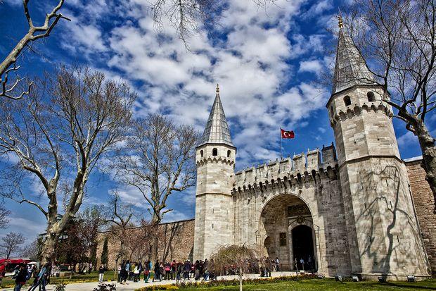 قصر توب كابي في اسطنبول - قصور اسطنبول