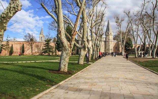قصر توب كابي اسطنبول