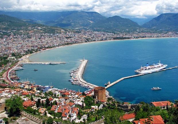اين تقع مدينة الانيا التركية