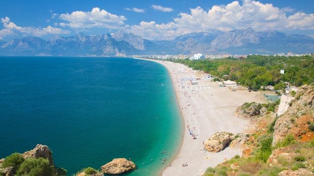 شاطئ كونيالتي انطاليا افضل شواطئ انطاليا