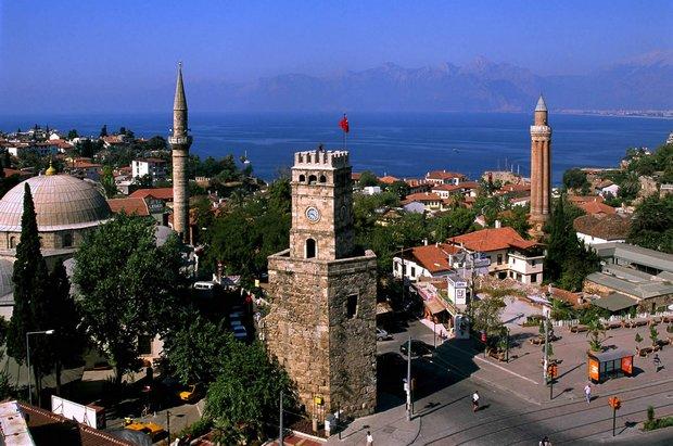 المدينة القديمة في انطاليا - اهم الاماكن السياحية في انطاليا