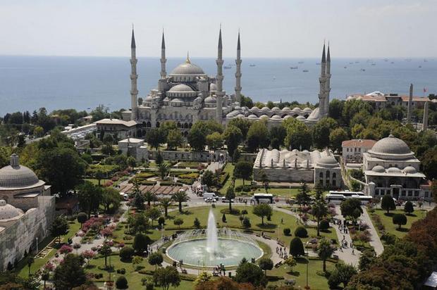 منطقة السلطان احمد - اهم المناطق السياحية في اسطنبول