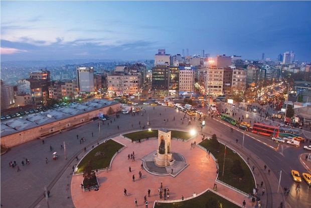منطقة تقسيم في اسطنبول - اجمل المناطق في اسطنبول