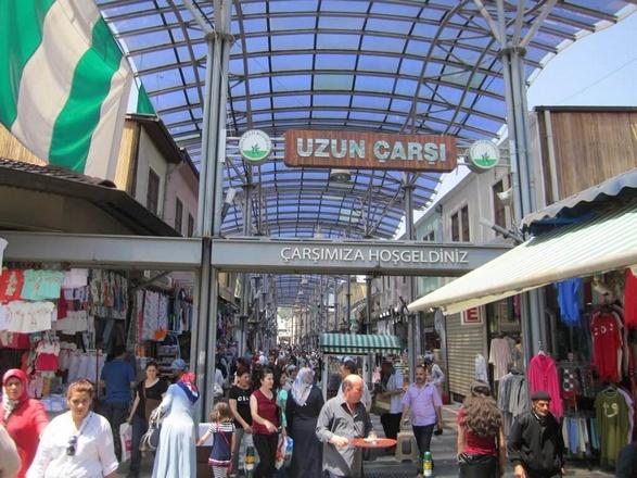 السوق المسقوف بورصة - الاماكن السياحية في بورصة