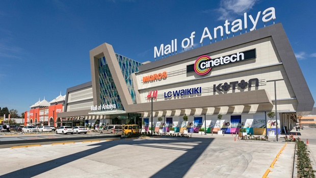 مول اوف انطاليا - مجمعات التسوق في انطاليا