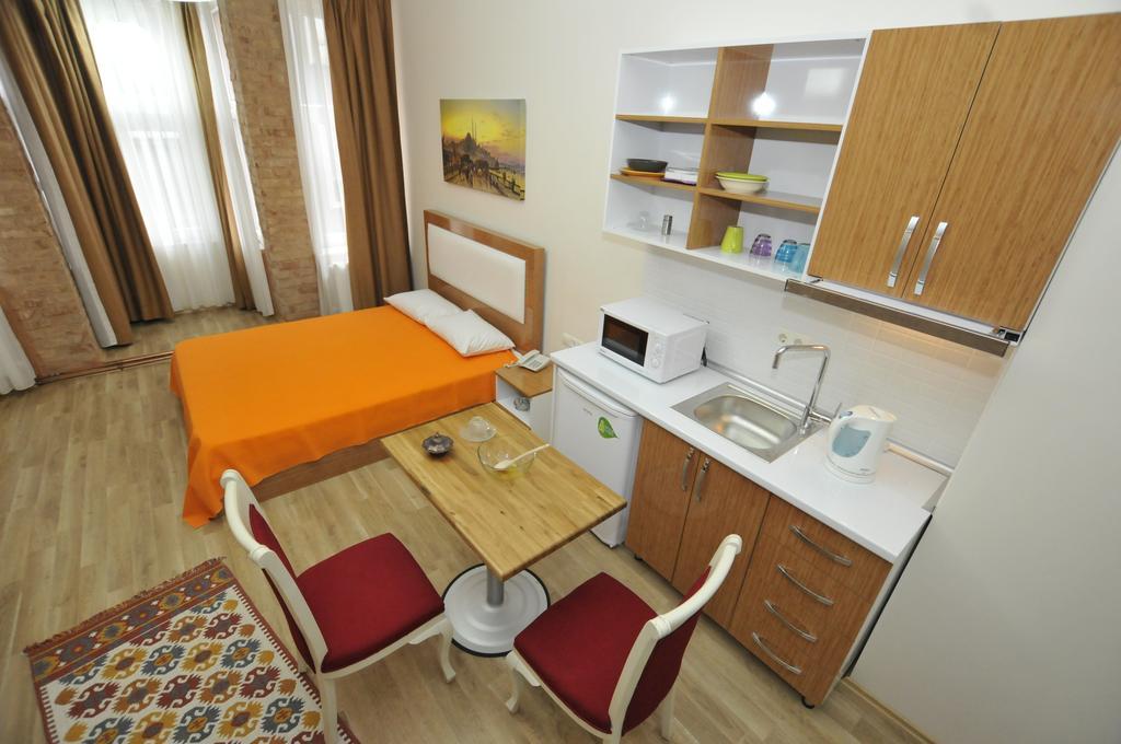 شقق فندقية في تقسيم اسطنبول