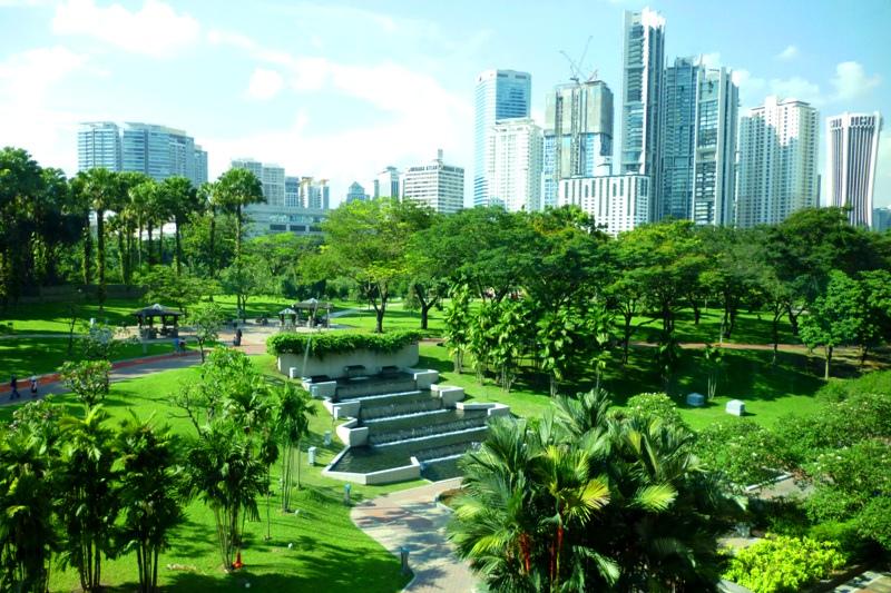 حديقة مركز مدينة كوالالمبور - افضل الاماكن السياحية في كوالالمبور