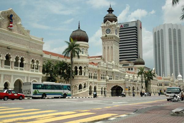 مبنى السلطان عبد الصمد - افضل الاماكن في كوالالمبور