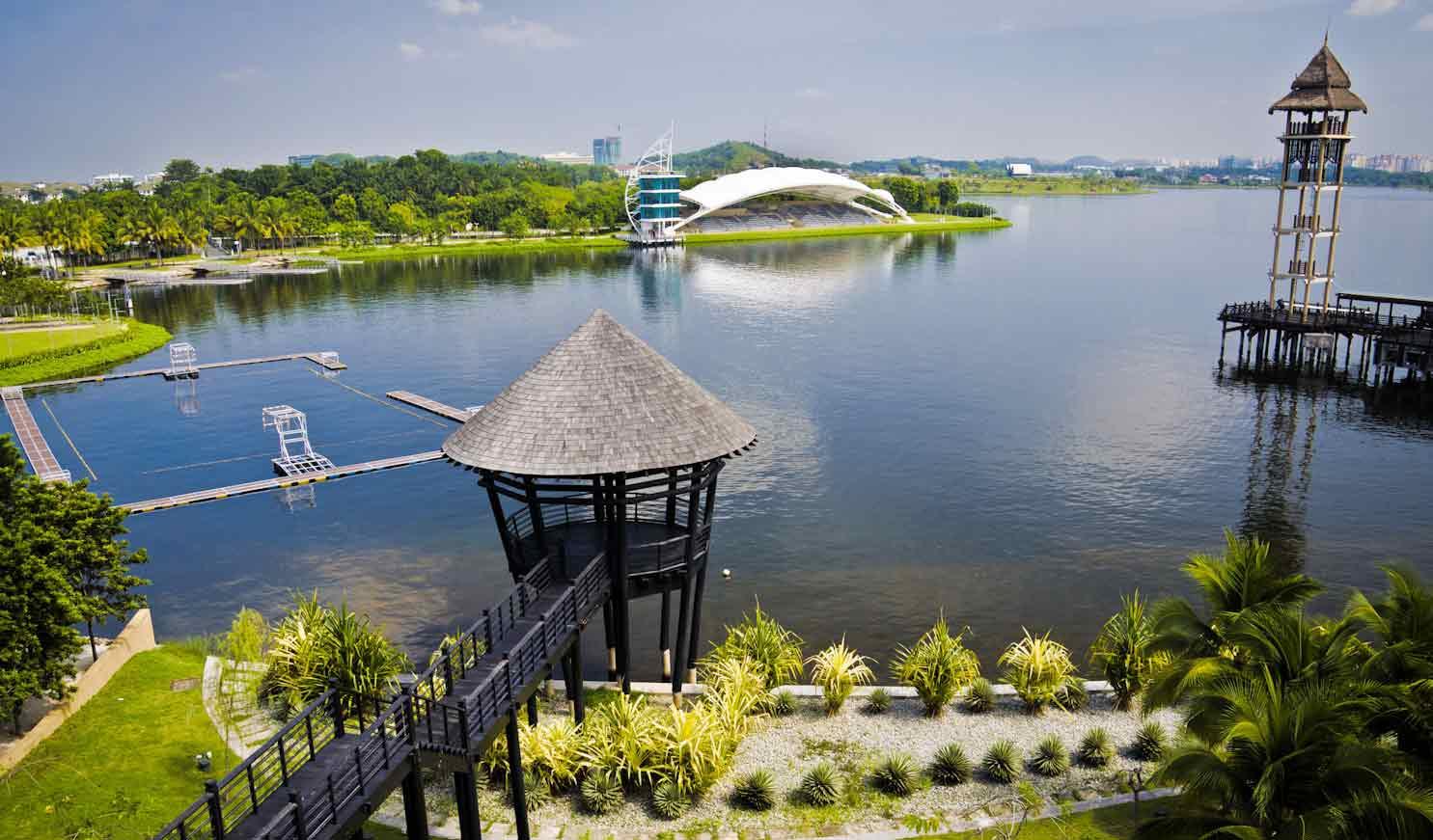 بحيرة بوتراجايا سيلانجور - اماكن سياحية في سيلانجور