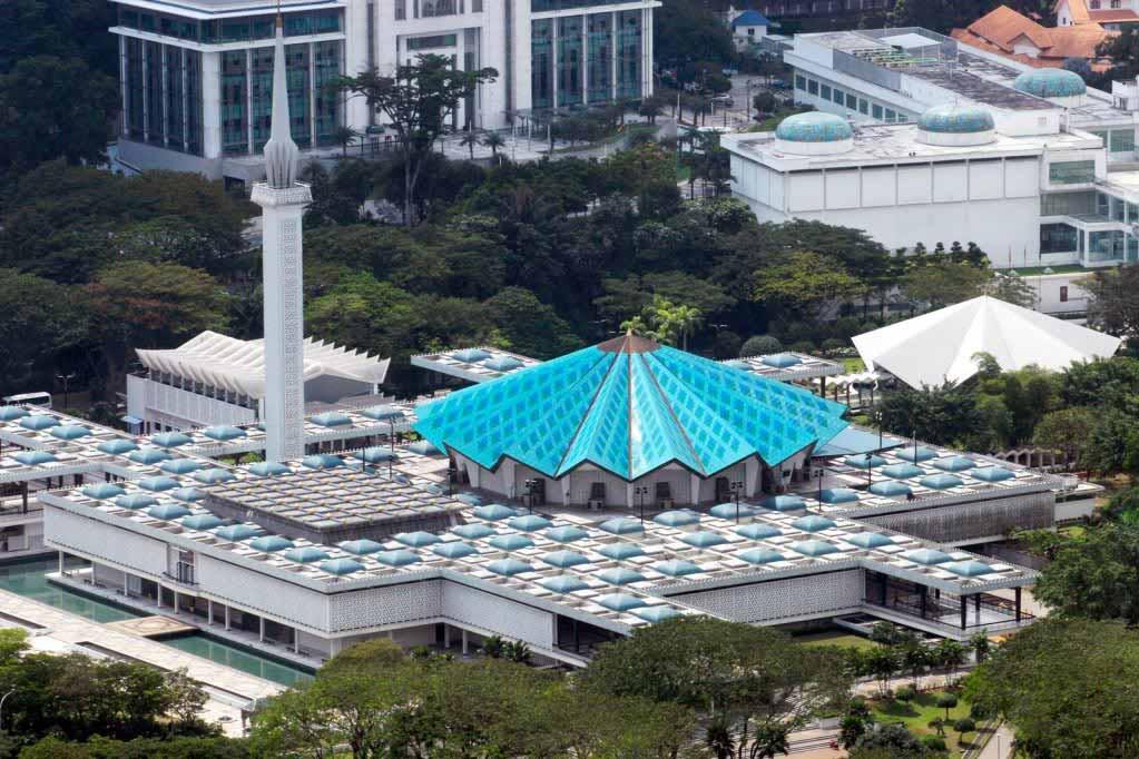 المسجد الوطني في كوالالمبور - كوالالمبور الاماكن السياحية
