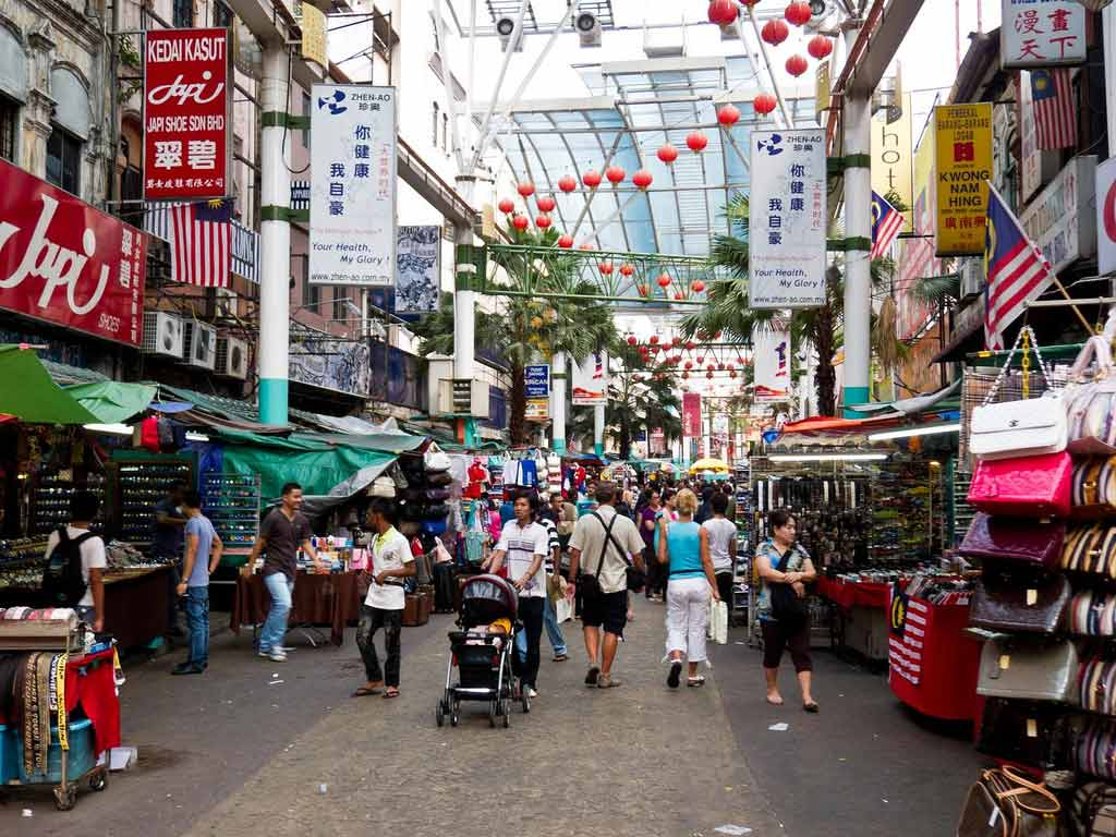 السوق الصيني كوالالمبور - السياحة في كوالالمبور