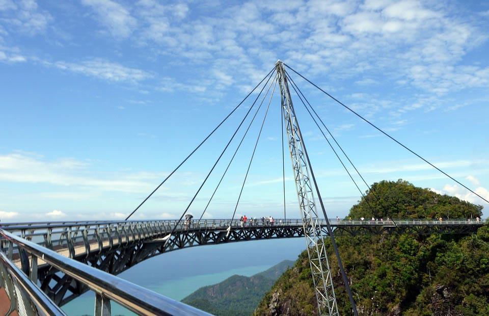جسر لانكاوي سكاي - المناطق السياحية في لنكاوي