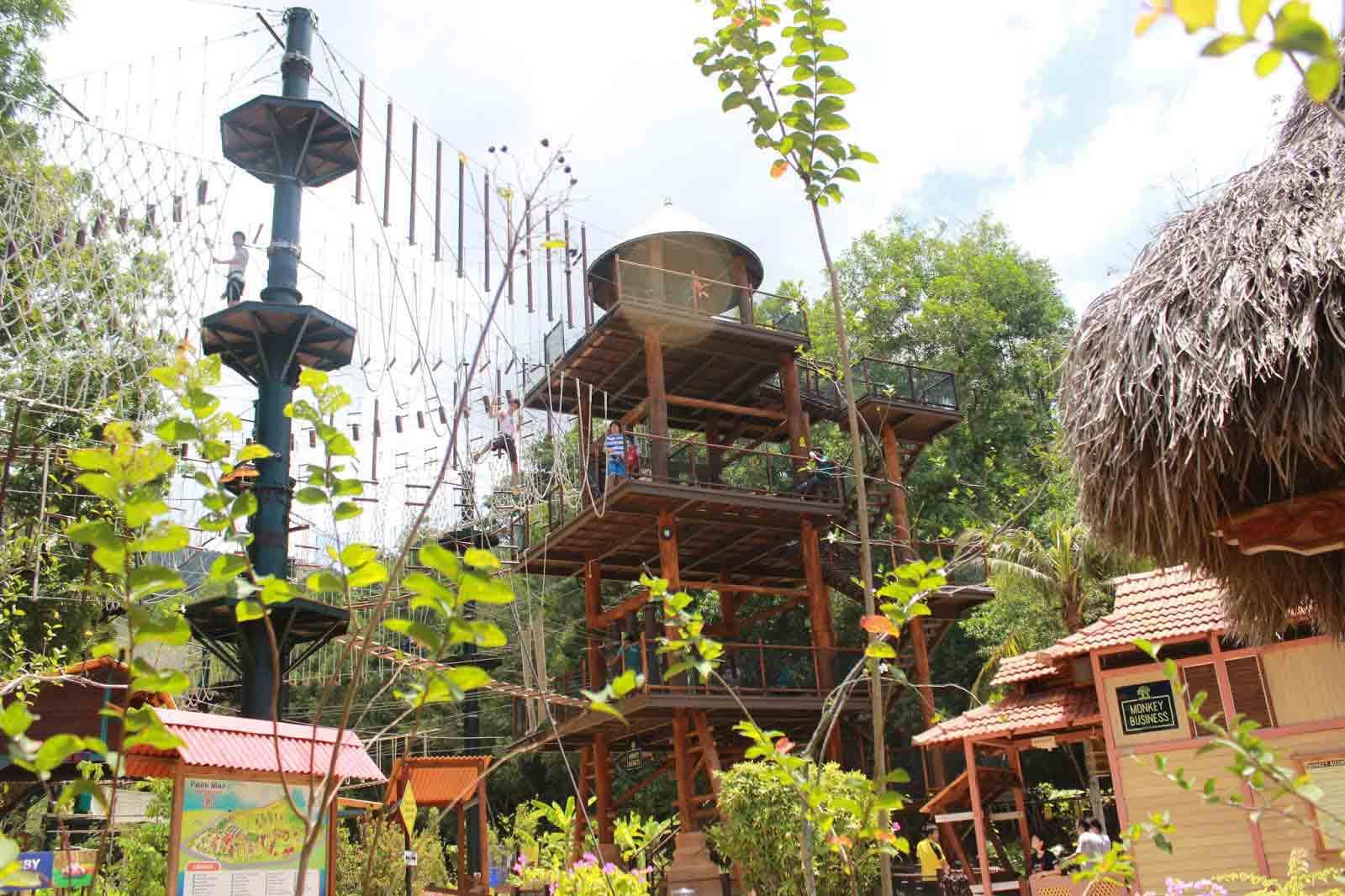 ادفنشر زون بينانج - اهم الاماكن السياحية في بينانج