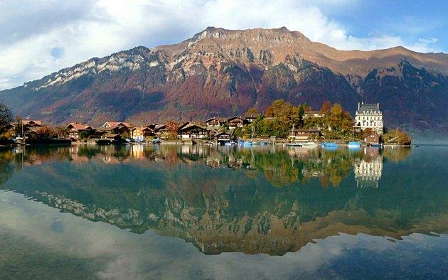 قرية ايسلتوالد سويسرا - المناطق السياحية في انترلاكن