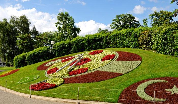 الحديقة الانجليزية في جنيف - اماكن سياحية في جنيف