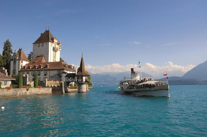 بحيرة ثون سويسرا - مدن سويسرا السياحية