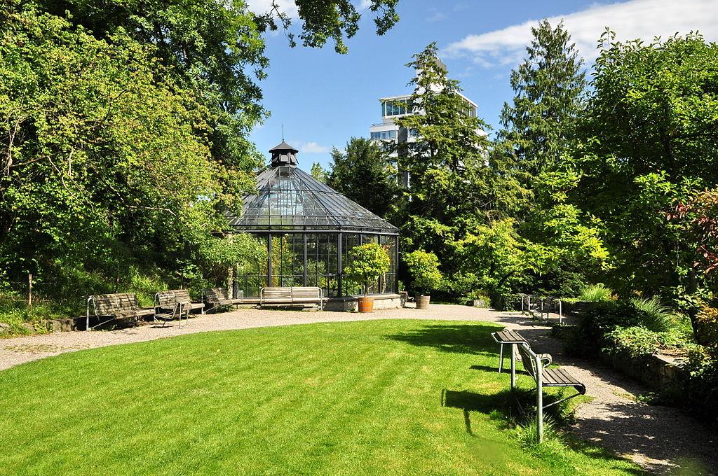 الحديقة النباتية زيورخ - اماكن سياحية في زيورخ
