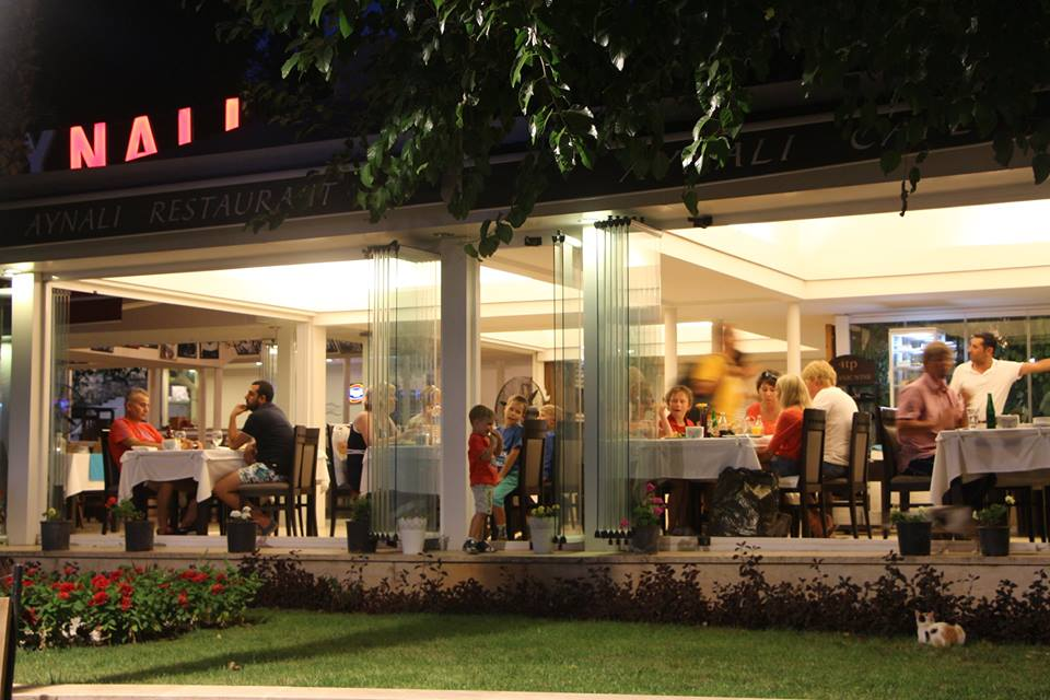 مطعم اينالي في انطاليا