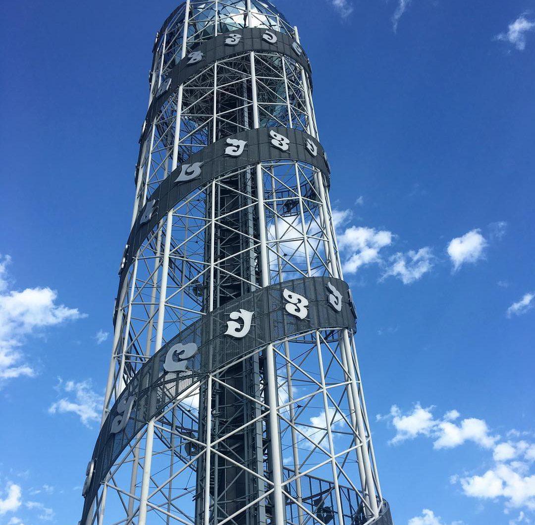 برج الحروف الابجدية باتومي - المناطق السياحية في باتومي