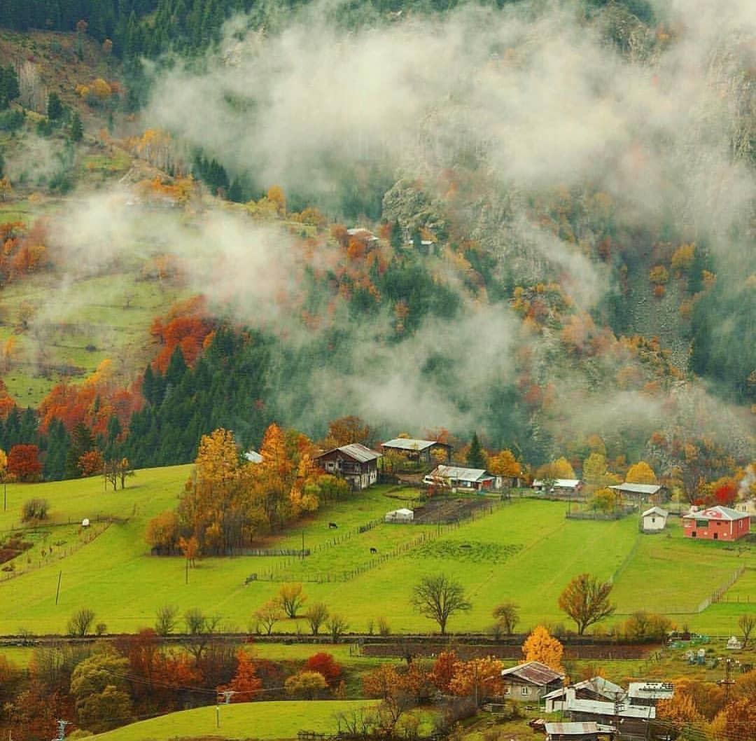 قرية ايدر تركيا
